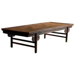 Antique Chinese Opium Daybed Qing Dynasty 19th Century, 1830