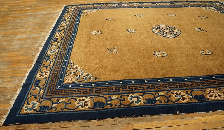 Antique Chinese Peking Rug For Sale 5
