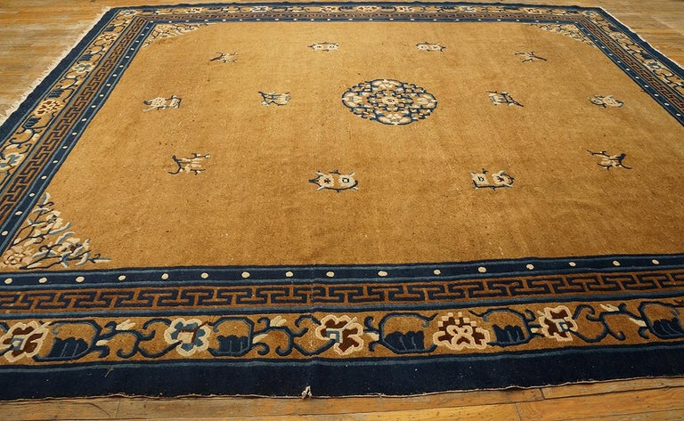 Antique Chinese Peking Rug For Sale 6
