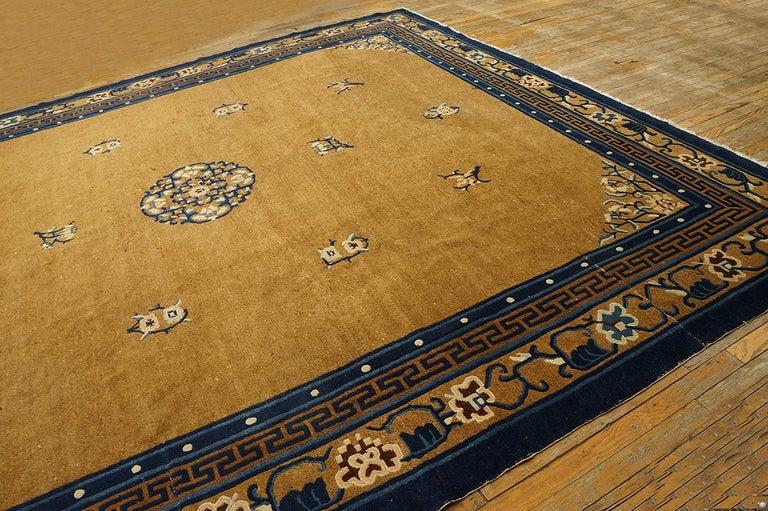 Antique Chinese Peking rug, size: 10'0