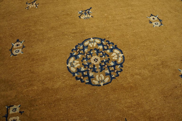 Antique Chinese Peking Rug In Good Condition For Sale In New York, NY