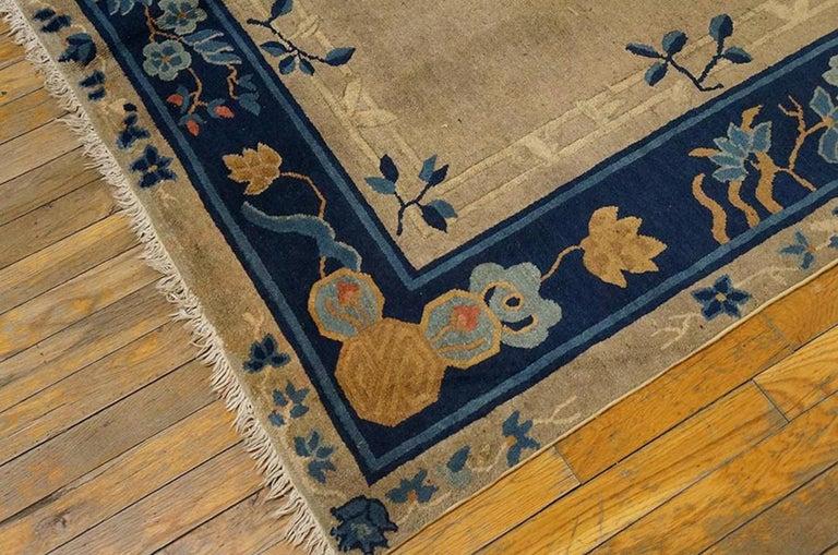 Antique Chinese - Peking rug, size: 5'2