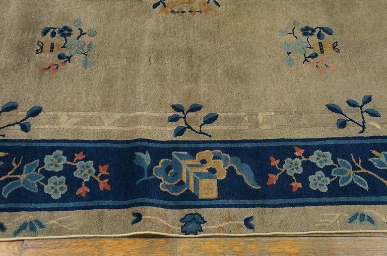 Antique Chinese, Peking Rug In Good Condition For Sale In New York, NY