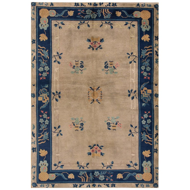 Antique Chinese, Peking Rug For Sale