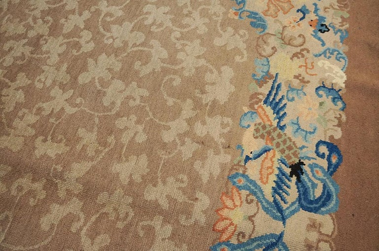Antique Chinese Peking Rug For Sale 1