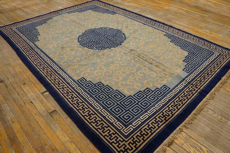 Antique Chinese Peking rug, size: 6'8