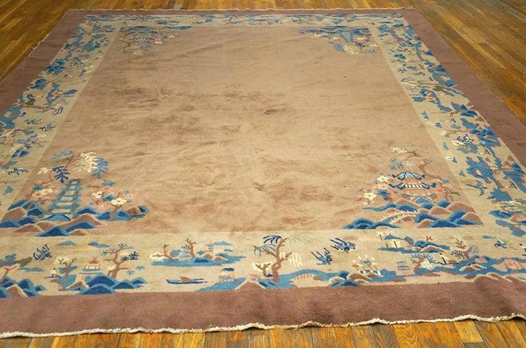 Antique Chinese - Peking rug, size: 8'8