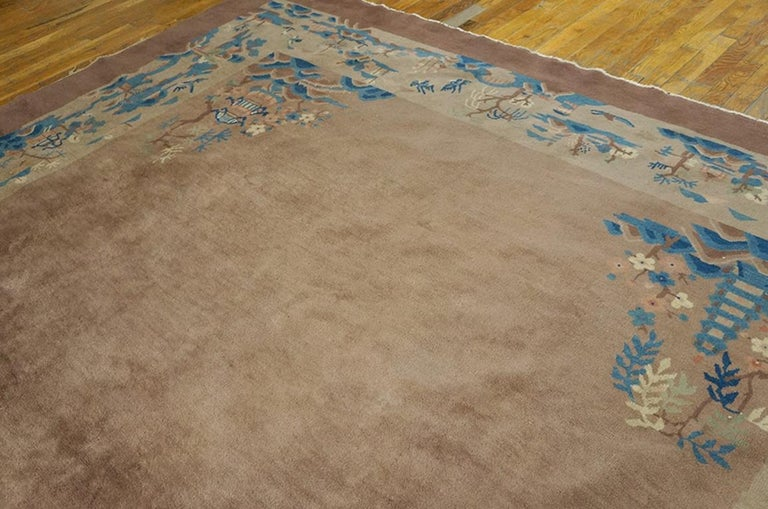 Wool Antique Chinese, Peking Rug For Sale