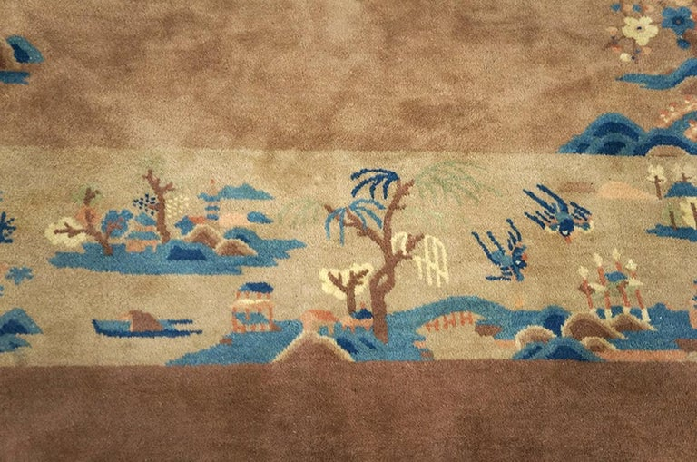 Antique Chinese, Peking Rug For Sale 1