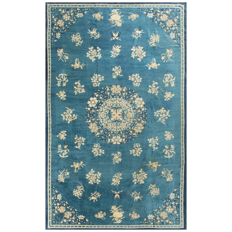 Antique Chinese Peking Rug, Circa 1900 For Sale At 1stdibs