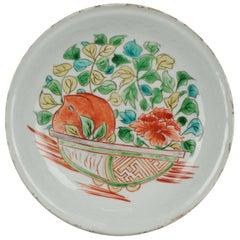 Antique Chinese Porcelain 17c Porcelain Ming Dynasty Wanli Kraak Enamels China