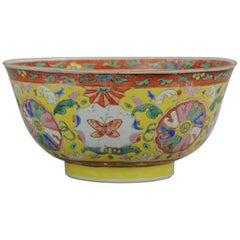 Antique Chinese Porcelain Jar 18th Century SE Asian Thai Market Bencharong