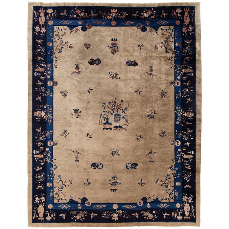 Antique Chinese Rug For Sale At 1stdibs