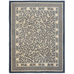 Antique Chinese Rug. Size: 8 ft 10 in x 11 ft 6 in (2.69 m x 3.51 m)