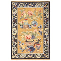 Antique Chinese Silk Rug
