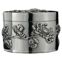 Antique Chinese Sterling Silver Box