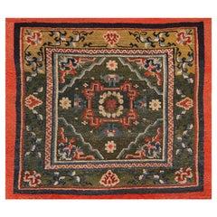 Antique Chinese Tibetan Rug