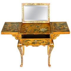 Antique Chinoiserie Dressing Table