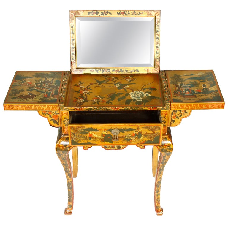 Antique Chinoiserie Dressing Table For Sale At 1stdibs