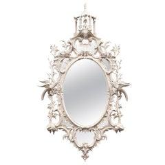 Antique Chippendale Period Mirror