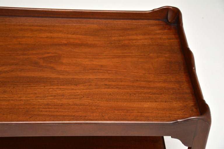 Mid-20th Century Antique Chippendale Style Mahogany Coffee Table