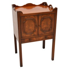 Antique Chippendale Style Mahogany Side Cabinet