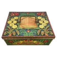 Antique Chocolat Tin, Early 20th Century, Belgium