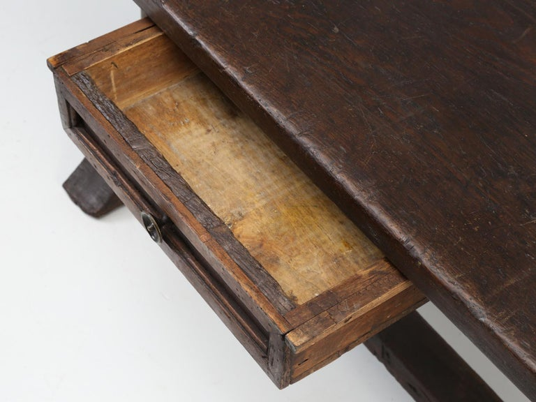 Country Antique circa 1690-1730 Desk, Kitchen Table or Sofa Table For Sale