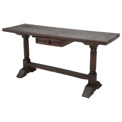 Antique circa 1690-1730 Desk, Kitchen Table or Sofa Table