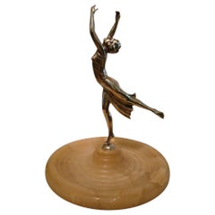 Antique Classic Ballet Female Dancer Sculpture, French, 1930s