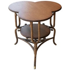 Antique Clover Leaf Table