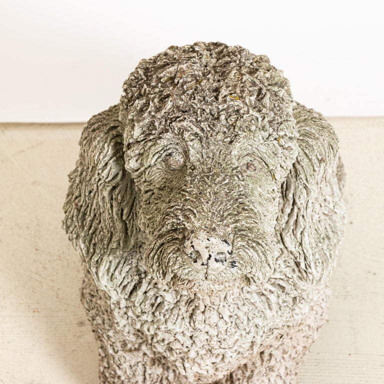 Other Antique Cocker Spaniel Dog Garden Ornament For Sale