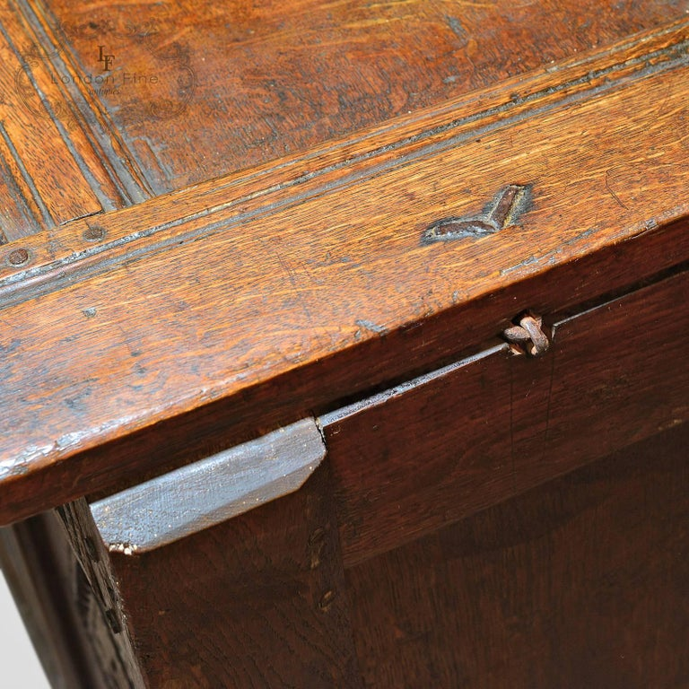 Antique Coffer, Charles II Chest, circa 1680 For Sale 3