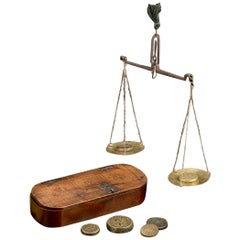 Antique Coin Scales, 17th Century