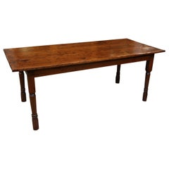 Antique Colonial Farmhouse Table