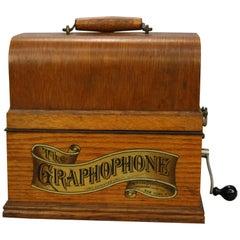 Antique Columbia Graphaphone Music Box, Circa 1910