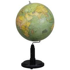 Antique Columbus Earth Globe by Paul Oestergaard, Berlin, circa 1900