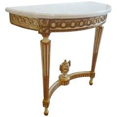 Louis XVI Demi-lune Tables