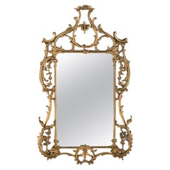 Antique Continental Mirror