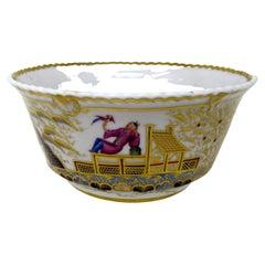 Antique Copeland Spode English Porcelain Regency Bowl Centerpiece Oriental View