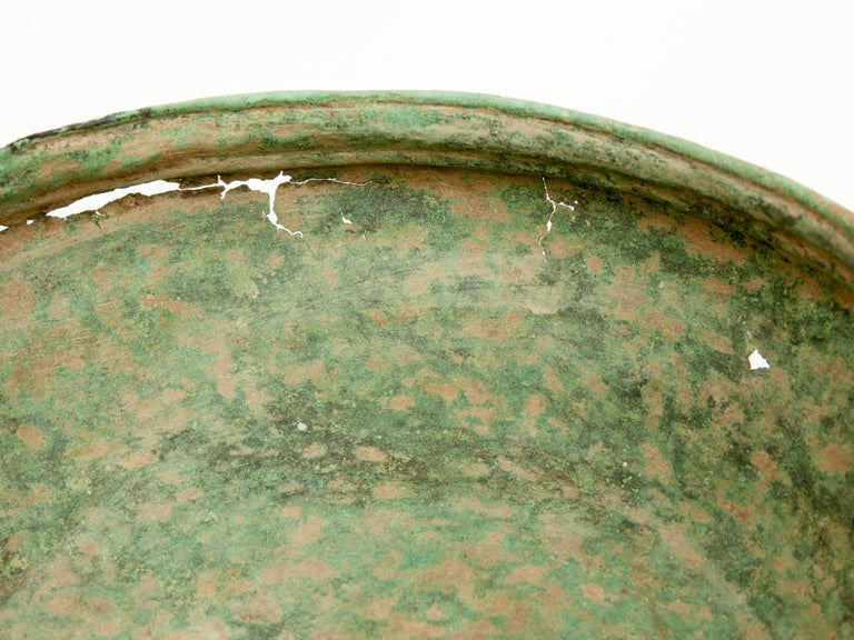 Antique Copper or Bronze Offering Bowl Eastern Thailand, 19th Century or Earlier For Sale 7