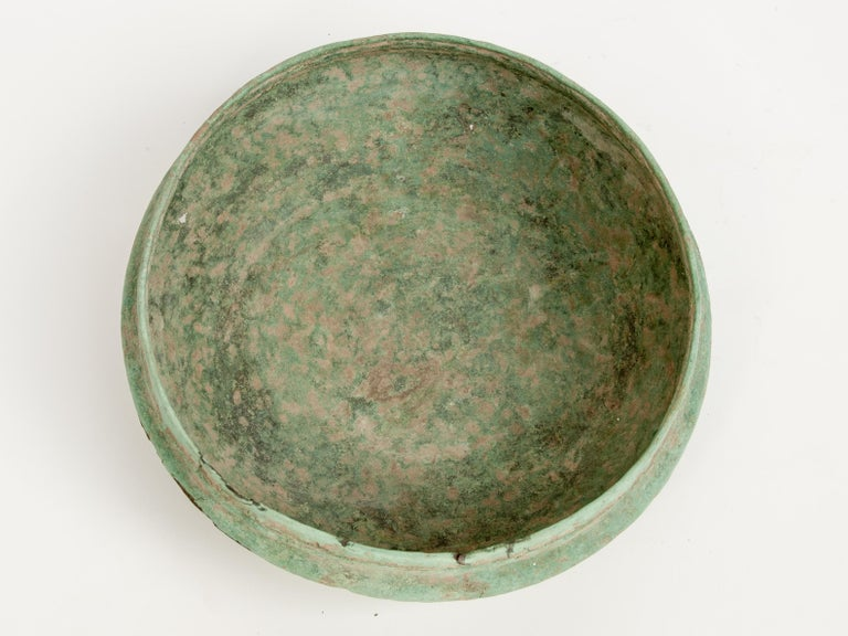 Antique Copper or Bronze Offering Bowl Eastern Thailand, 19th Century or Earlier For Sale 10