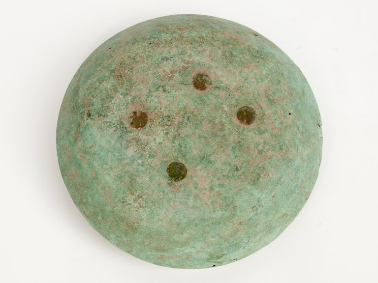 Antique Copper or Bronze Offering Bowl Eastern Thailand, 19th Century or Earlier For Sale 11