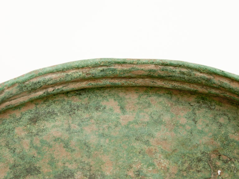 Antique Copper or Bronze Offering Bowl Eastern Thailand, 19th Century or Earlier For Sale 1