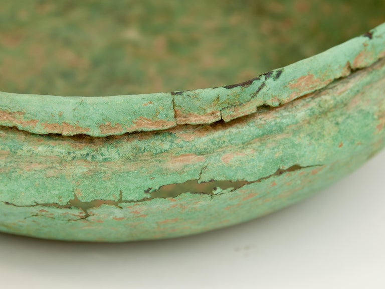 Antique Copper or Bronze Offering Bowl Eastern Thailand, 19th Century or Earlier For Sale 3