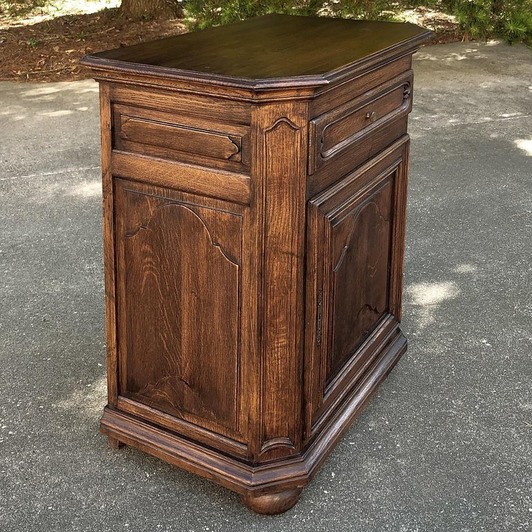 Hand-Crafted Antique Country French Confiturier, Cabinet For Sale