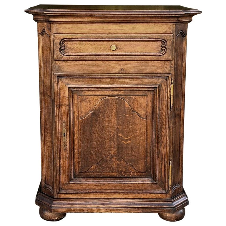 Antique Country French Confiturier, Cabinet For Sale