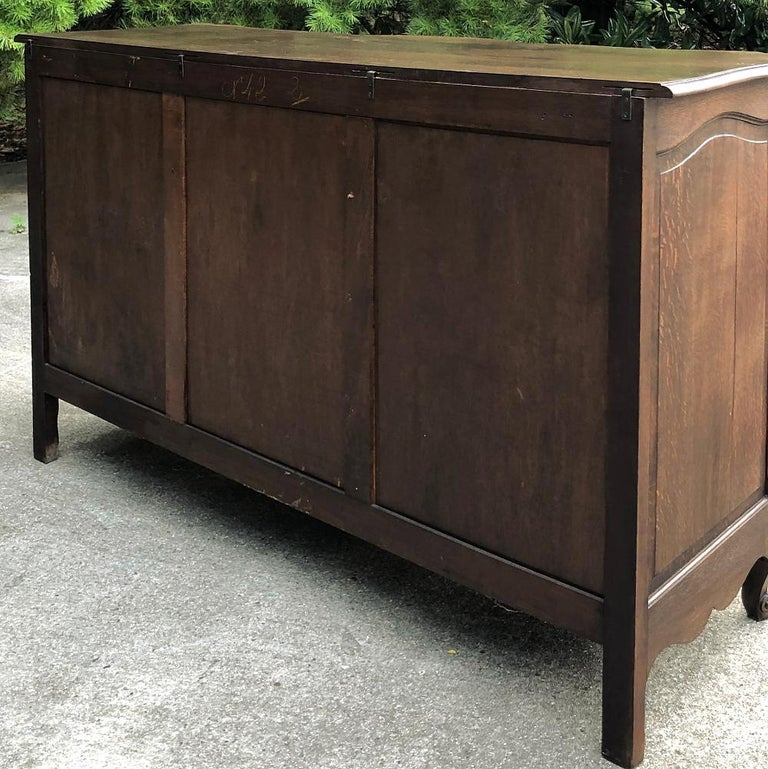Antique Country French Provincial Buffet For Sale 7