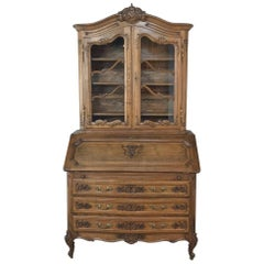 Antique Country French Secretary, Bookcase