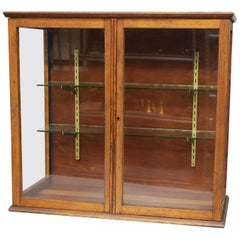 Antique Country Store Counter Top Display Cabinet, circa 1900
